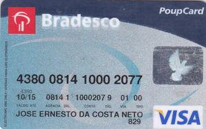 Conheça o cartão PoupCard do Bradesco