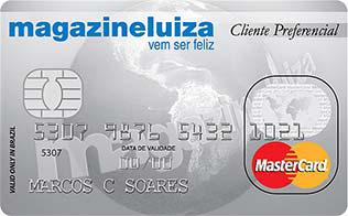 Cartão Magazine Luiza Cliente Preferencia