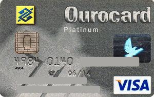 OuroCard Platinum, um cartão top do Banco do Brasil