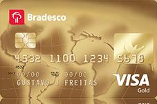 Cartão Bradesco VISA Gold