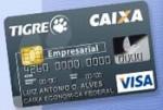 CAIXA Tigre Empresarial Visa