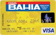 Casas Bahia Visa