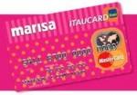 Cartão Marisa Itaucard