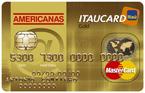 Americanas Itaucard Mastercard Gold