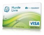 Pré-pago Mundo Livre Visa