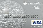 Santander Platinum Style Visa