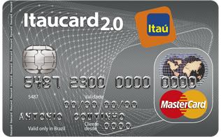 Itaucard Mastercard 20 Nacional