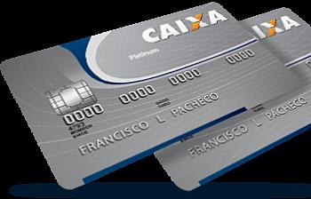 Cartão de crédito Caixa Platinum Visa