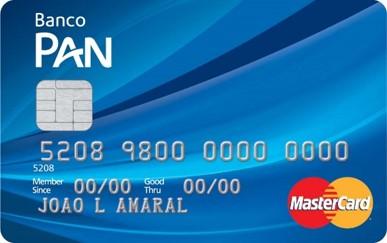Cartão PAN Internacional Mastercard