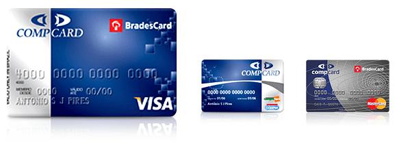 Cartão Compercard VISA MasterCard