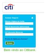 Regularização de Faturas Citibank