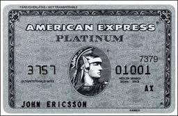 Cartão Amex sem limite de crédito