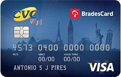 CVC VISA Internacional Bradesco