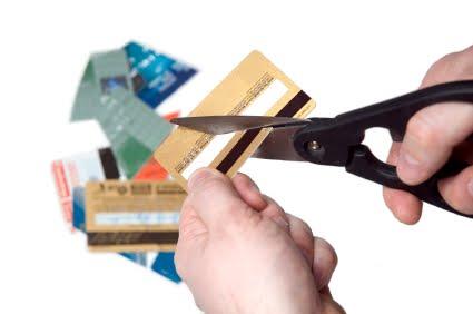 O cartão vencido deve ser cortado