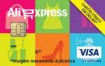 Visa Pré-Pago Internacional Aliexpress