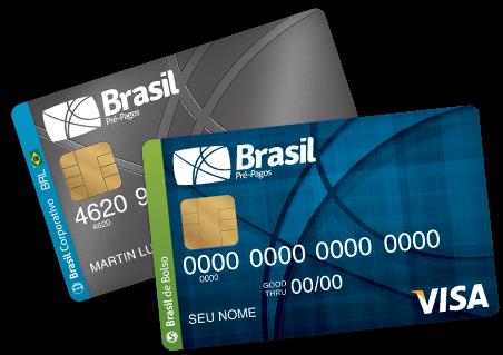 Cartões Brasil Pré-Pagos