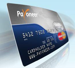 Cartão Payoneer
