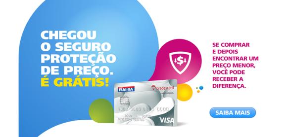 Conheça o cartão de crédito Casas Bahia