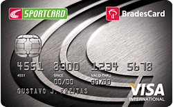 Centaur Sportcard Bradesco VISA Internacional